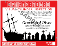 Cylinder Visual Inspection